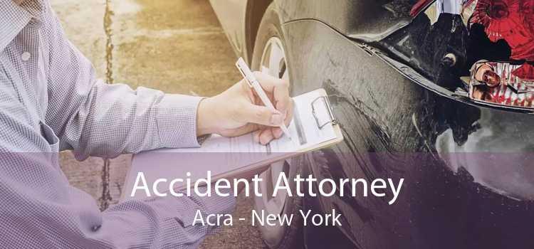 Accident Attorney Acra - New York