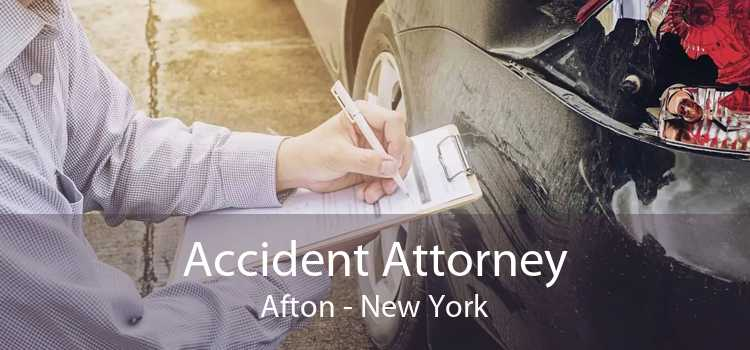 Accident Attorney Afton - New York