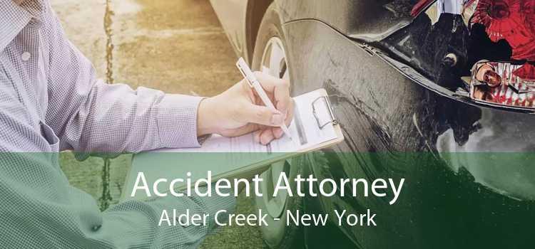 Accident Attorney Alder Creek - New York