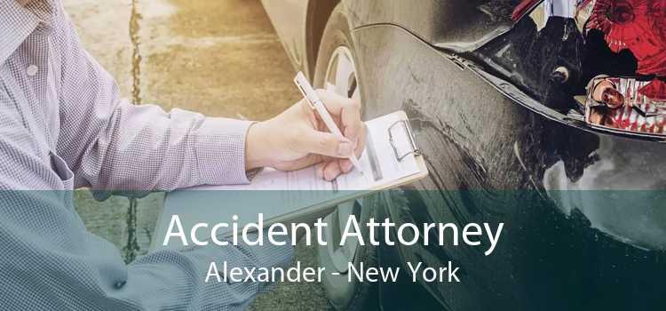 Accident Attorney Alexander - New York