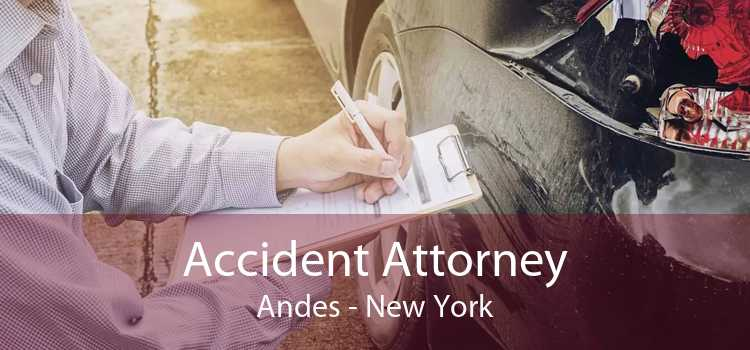 Accident Attorney Andes - New York