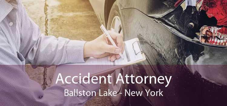 Accident Attorney Ballston Lake - New York