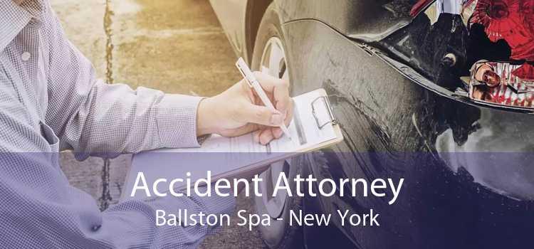 Accident Attorney Ballston Spa - New York