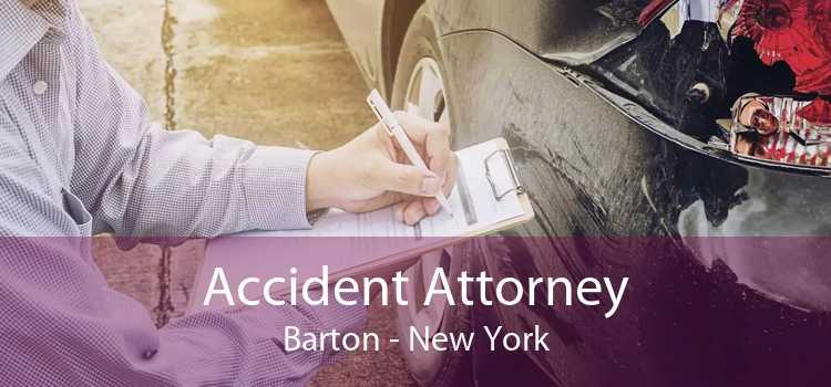 Accident Attorney Barton - New York