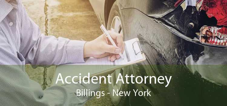 Accident Attorney Billings - New York