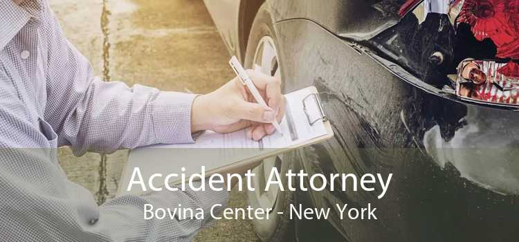 Accident Attorney Bovina Center - New York