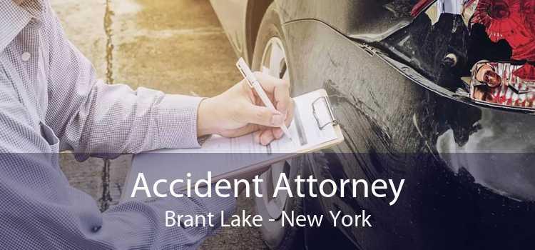 Accident Attorney Brant Lake - New York