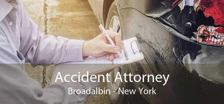 Accident Attorney Broadalbin - New York