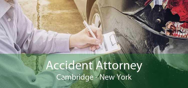 Accident Attorney Cambridge - New York
