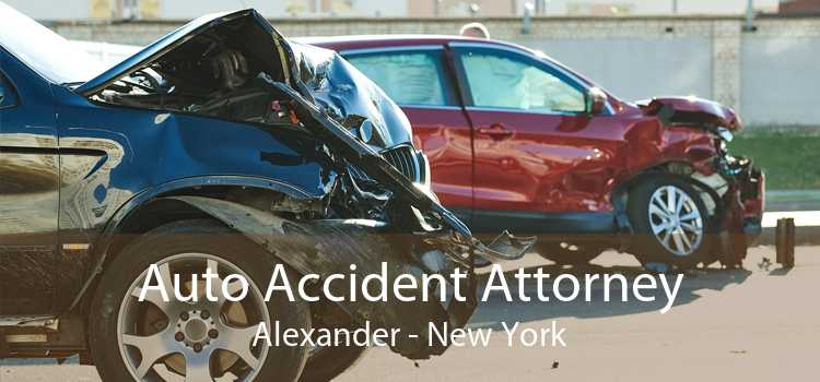 Auto Accident Attorney Alexander - New York