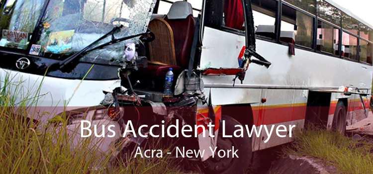Bus Accident Lawyer Acra - New York