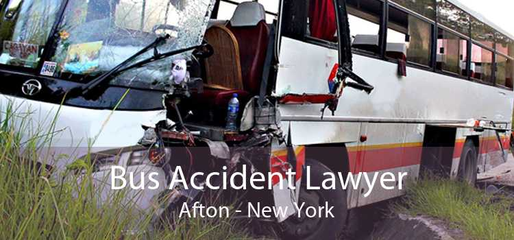 Bus Accident Lawyer Afton - New York