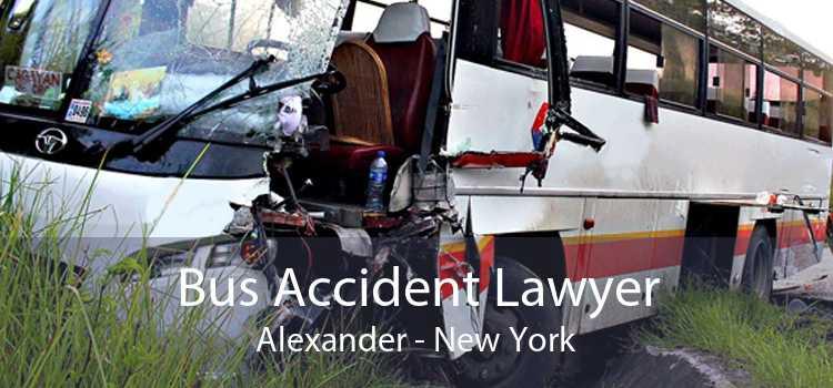 Bus Accident Lawyer Alexander - New York