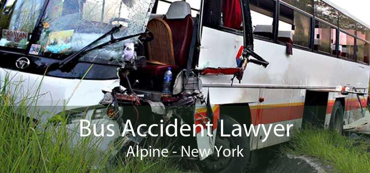 Bus Accident Lawyer Alpine - New York