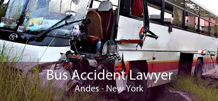 Bus Accident Lawyer Andes - New York