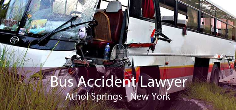 Bus Accident Lawyer Athol Springs - New York