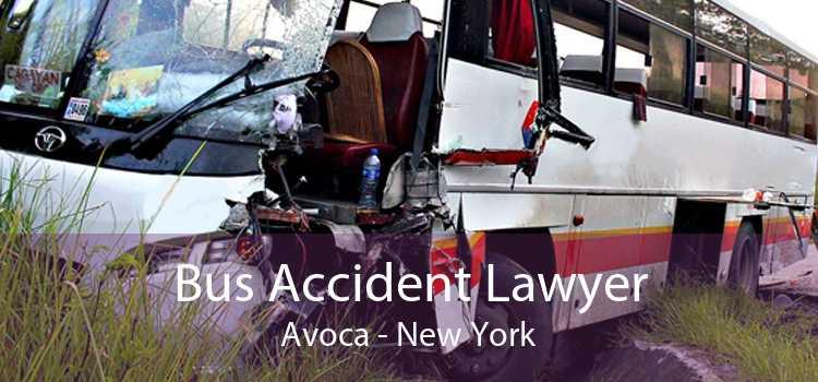 Bus Accident Lawyer Avoca - New York