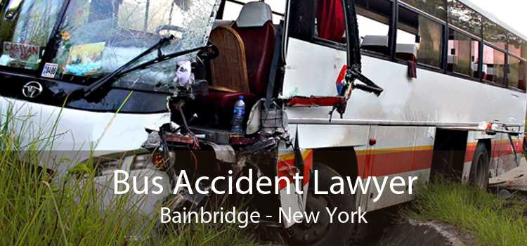 Bus Accident Lawyer Bainbridge - New York