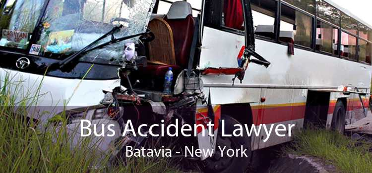 Bus Accident Lawyer Batavia - New York