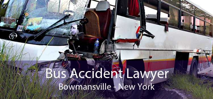 Bus Accident Lawyer Bowmansville - New York