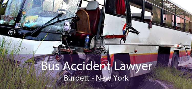 Bus Accident Lawyer Burdett - New York