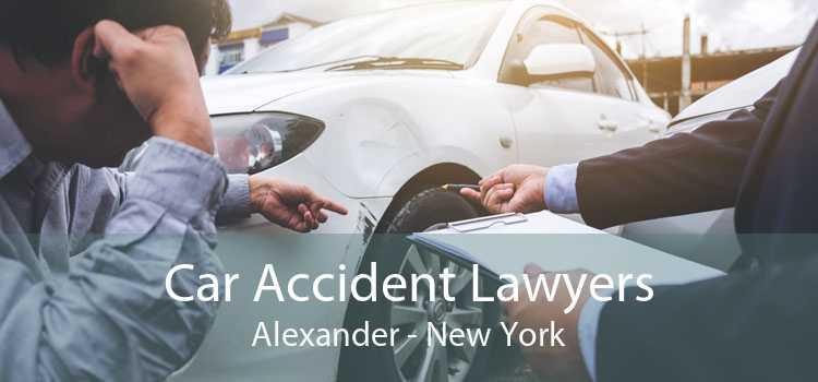 Car Accident Lawyers Alexander - New York
