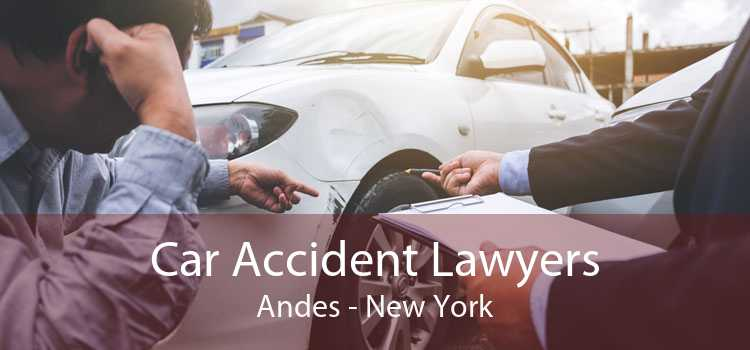 Car Accident Lawyers Andes - New York