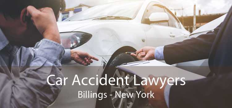 Car Accident Lawyers Billings - New York