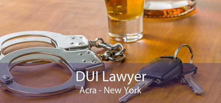 DUI Lawyer Acra - New York