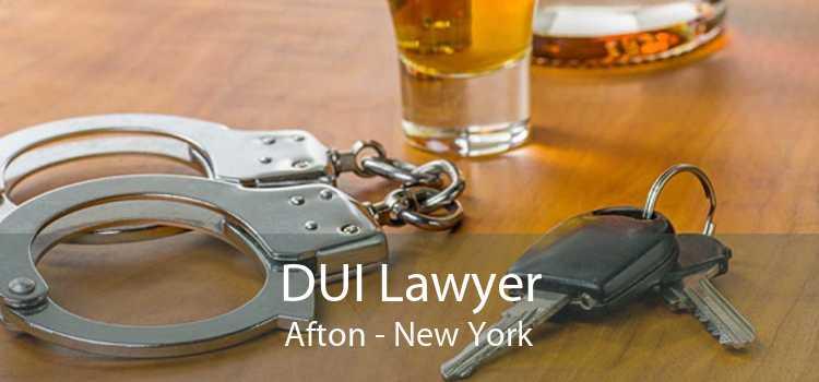 DUI Lawyer Afton - New York