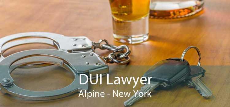 DUI Lawyer Alpine - New York