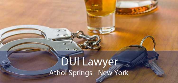 DUI Lawyer Athol Springs - New York