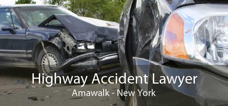 Highway Accident Lawyer Amawalk - New York