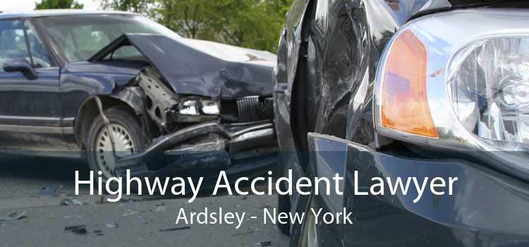 Highway Accident Lawyer Ardsley - New York