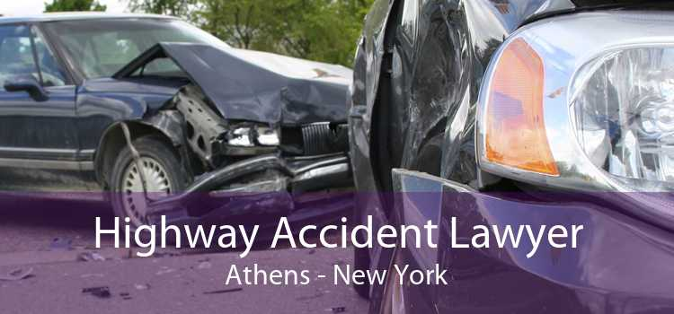 Highway Accident Lawyer Athens - New York