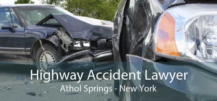 Highway Accident Lawyer Athol Springs - New York