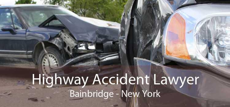 Highway Accident Lawyer Bainbridge - New York