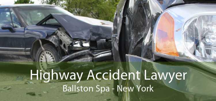 Highway Accident Lawyer Ballston Spa - New York