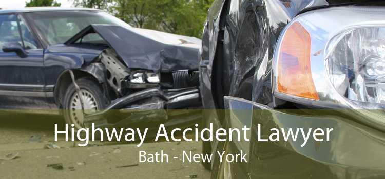 Highway Accident Lawyer Bath - New York