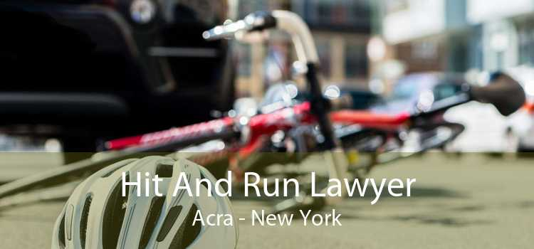 Hit And Run Lawyer Acra - New York