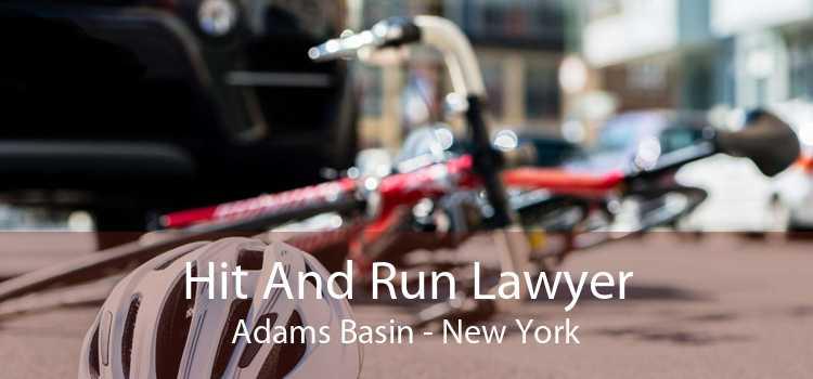 Hit And Run Lawyer Adams Basin - New York