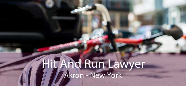 Hit And Run Lawyer Akron - New York