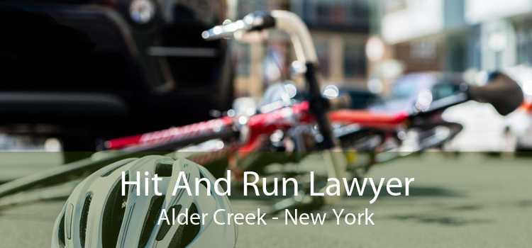 Hit And Run Lawyer Alder Creek - New York