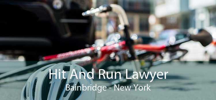 Hit And Run Lawyer Bainbridge - New York