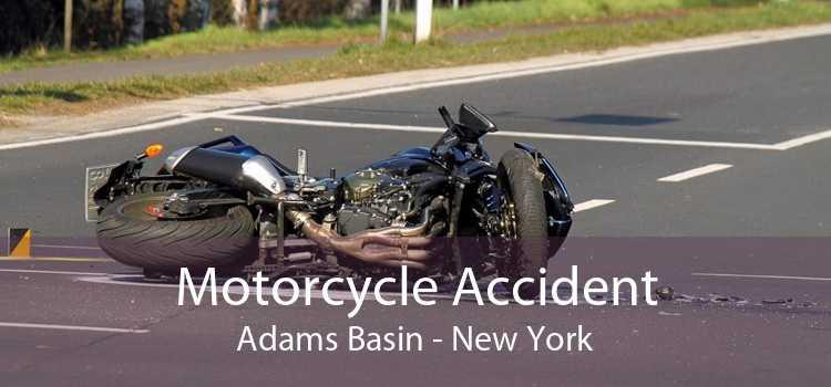 Motorcycle Accident Adams Basin - New York