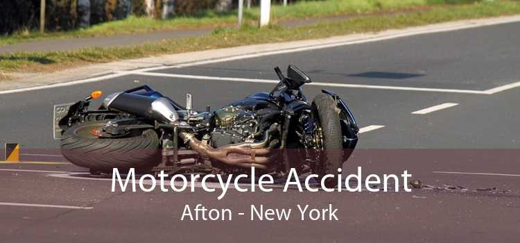 Motorcycle Accident Afton - New York