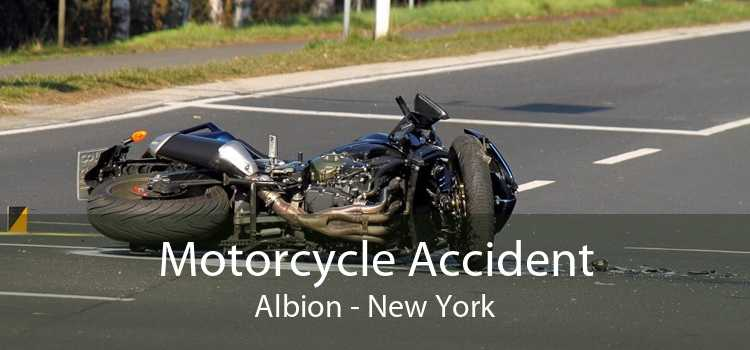 Motorcycle Accident Albion - New York