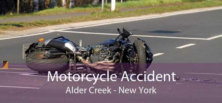 Motorcycle Accident Alder Creek - New York