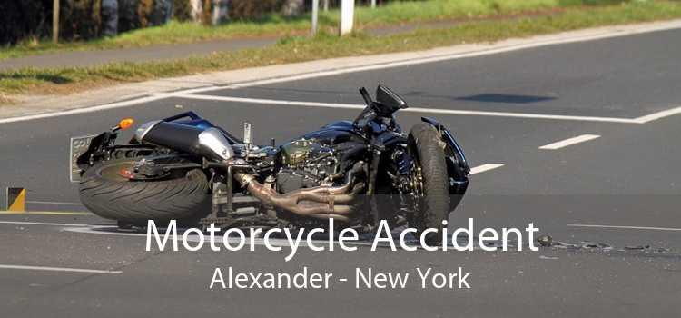 Motorcycle Accident Alexander - New York