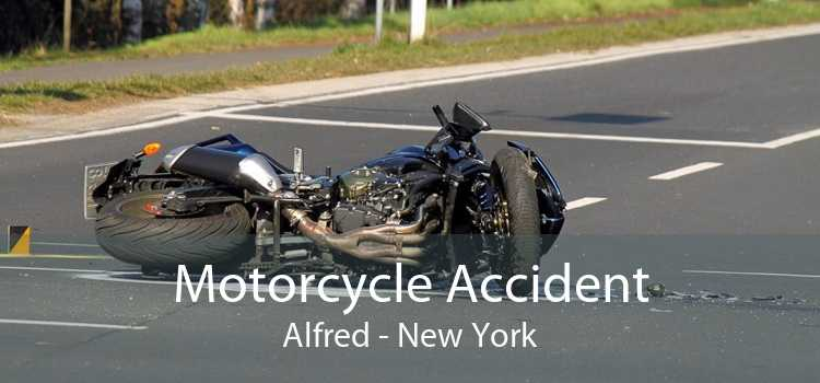 Motorcycle Accident Alfred - New York